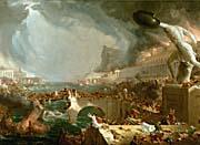 Thomas Cole The Course of Empire Destruction