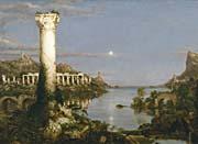 Thomas Cole The Course of Empire Desolation