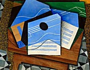 Juan Gris Guitar on a Table