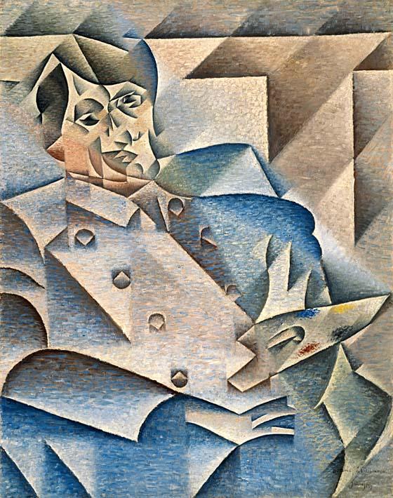 Juan Gris Portrait of Pablo Picasso stretched canvas art print