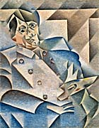 Juan Gris Portrait Of Pablo Picasso canvas prints