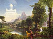 Thomas Cole Voyage Of Life Youth 1842 canvas prints