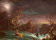 Thomas Cole Voyage Of Life Manhood 1842 canvas prints