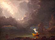 Thomas Cole Voyage of Life: Old Age 1842