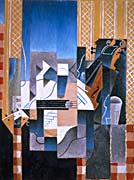 Juan Gris Violin and Guitar