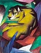 Franz Marc The Tiger canvas prints