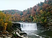 Ray Porter Autumn Waterfall