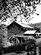 Ray Porter Old Mill (Black and White)