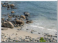 Brandie Newmon Coastline In Ogunquit Maine stretched canvas art