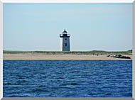 Brandie Newmon Wood End Lighthouse Provincetown Massachusetts stretched canvas art