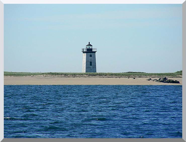 Brandie Newmon Wood End Lighthouse Provincetown, Massachusetts stretched canvas art print