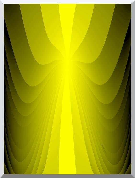 Lora Ashley Lemon Slide stretched canvas art print