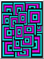 Lora Ashley Data Overload stretched canvas art