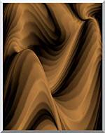 Lora Ashley Chocolate River stretched canvas art