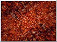 Lora Ashley Autumn Abstract Tapestry stretched canvas art