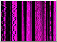 Lora Ashley Contemporary Magenta Abstract stretched canvas art