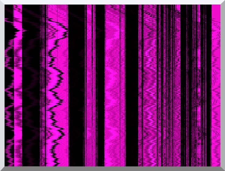 Lora Ashley Contemporary Magenta Abstract stretched canvas art print