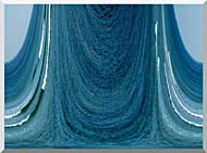Lora Ashley Contemporary Water World stretched canvas art