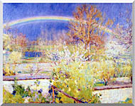 William Blair Bruce The Rainbow stretched canvas art