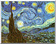 Vincent Van Gogh The Starry Night stretched canvas art