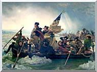 Emanuel Leutze Washington Crossing The Delaware stretched canvas art