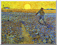 Vincent Van Gogh The Sower stretched canvas art