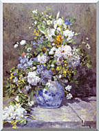 Pierre Auguste Renoir Spring Bouquet stretched canvas art
