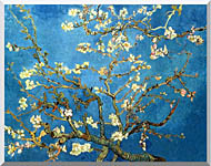 Vincent Van Gogh Almond Blossom stretched canvas art