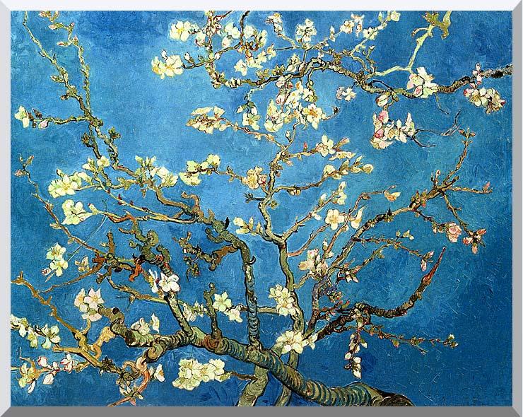 Vincent van Gogh Almond Blossom stretched canvas art print