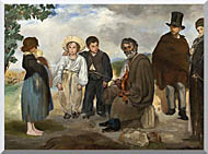 Edouard Manet The Old Musician stretched canvas art