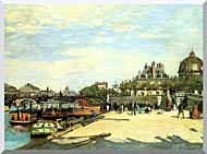 Pierre Auguste Renoir The Pont Des Arts stretched canvas art