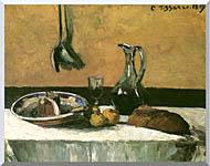 Camille Pissarro Kitchen Still Life stretched canvas art