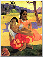 Paul Gauguin When Will You Marry stretched canvas art