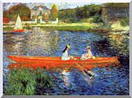 Pierre Auguste Renoir The Skiff stretched canvas art