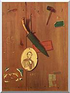 John Frederick Peto Reminiscences Of 1865 stretched canvas art