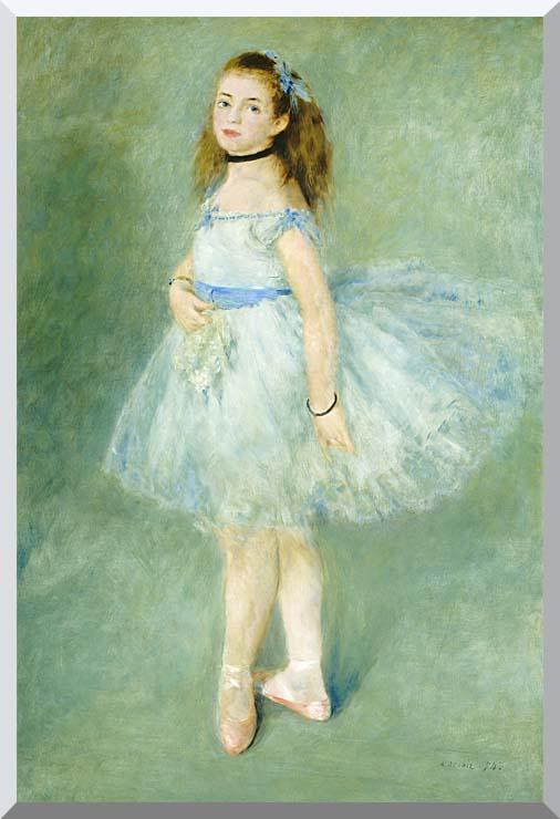 Pierre Auguste Renoir The Dancer stretched canvas art print