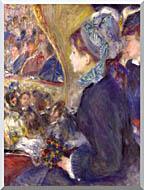 Pierre Auguste Renoir La Premiere Sortie stretched canvas art