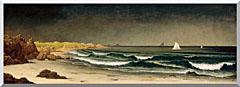 Martin Johnson Heade Approaching Storm Beach Near Newport stretched canvas art