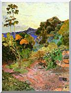 Paul Gauguin Martinique Landscape stretched canvas art