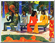Paul Gauguin We Shall Not Go To Market Today stretched canvas art
