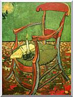 Vincent Van Gogh Paul Gauguins Armchair stretched canvas art