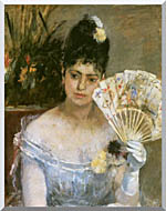 Berthe Morisot At The Ball stretched canvas art