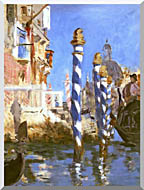 Edouard Manet The Grand Canal   Venice Italy stretched canvas art