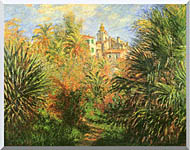 Claude Monet Gardens At Bordighera stretched canvas art