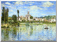 Claude Monet Vetheuil In Summer stretched canvas art