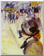Pierre Auguste Renoir Place Clichy stretched canvas art