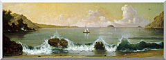 Martin Johnson Heade Rio De Janeiro Bay Panoramic View stretched canvas art