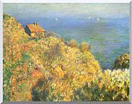 Claude Monet The Fishermans House Varengeville stretched canvas art
