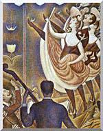 Georges Seurat Le Chahut stretched canvas art