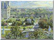 Claude Monet The Tuileries stretched canvas art